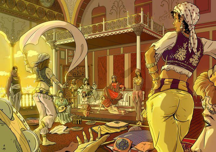 Картинки аниме восточные сказки