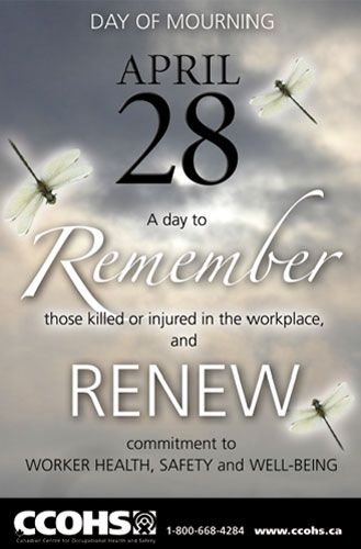 Reflect and renew your commitment to worker safety on the ...