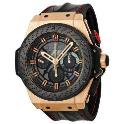 Hublot King Power F1 Men's Chrono Rose 18K Gold Limited edition of 250 pieces – 703.OM.6912.HR.FMC12