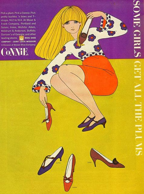 Some girls get all the plums From Mademoiselle, October 1966