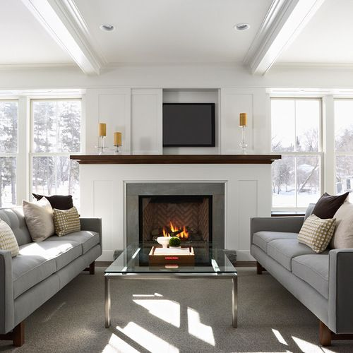 1000+ Ideas About Tv Over Fireplace On Pinterest
