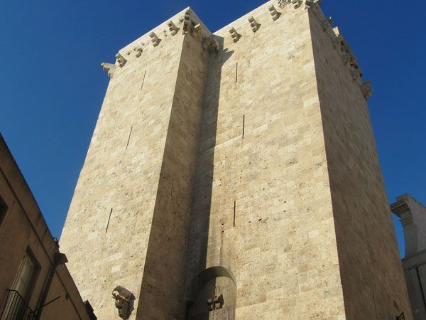 The elephant tower in the Castello district in Cagliari #Cagliari #sardinia #Travel #holiday #italy #Italia #vacation #Sardegna
