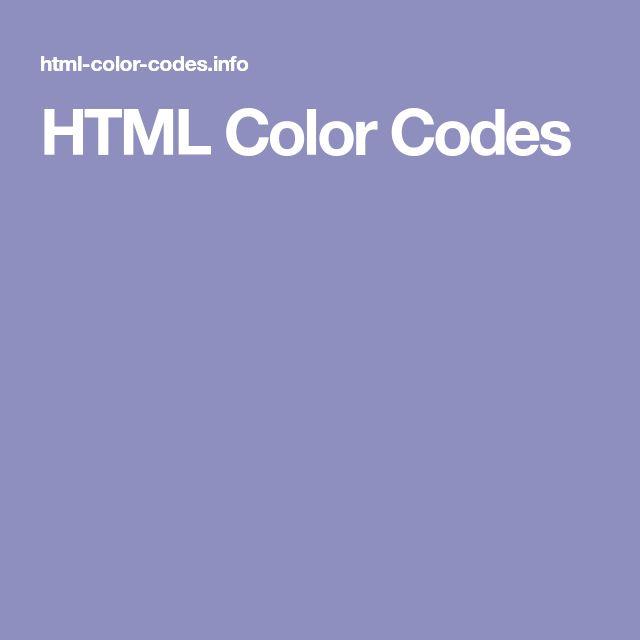 Mer enn 25 bra ideer om Color code picker på Pinterest - html color code chart