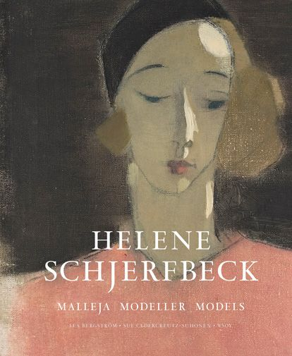 "'Helene Schjerfbeck. Malleja. Modeller. Models' /  Bergström Lea - Cedercreutz-Suhonen Sue / ""People's faces inspired Helene Schjerfbeck (1862–1946). The 60 paintings in this book, and the photographs of their models, reveal how great meaning the models had in Schjerfbeck's art."""