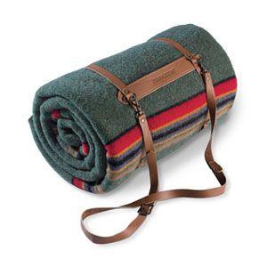 Pendleton blanket carrier.