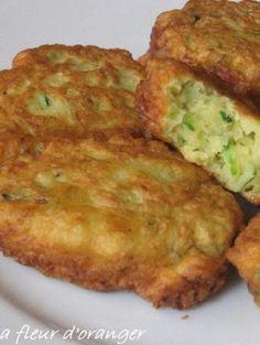Image de la recette Beignets de courgettes