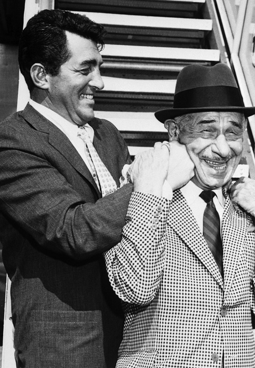 Dean Martin and Mike Romanoff, August 1961