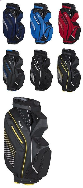 Golf Bags - Golf Club Bags 30109: Ping Pioneer Cart Golf Bag Mens - New 2017 - 15 Way Divider W/ 11 Pockets BUY IT NOW ONLY: $192.95