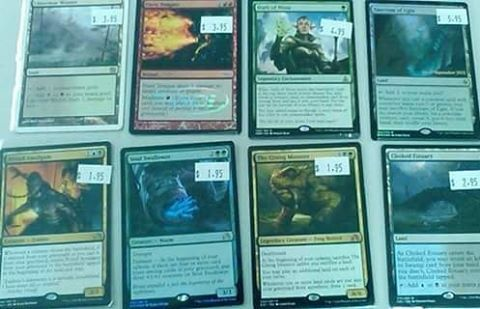 More Magic singles coming in all the time!  #nerdtopia #mtg #magicthegathering #harshmentor #amonkhet #games http://unirazzi.com/ipost/1504516597230228265/?code=BThHd-4llMp
