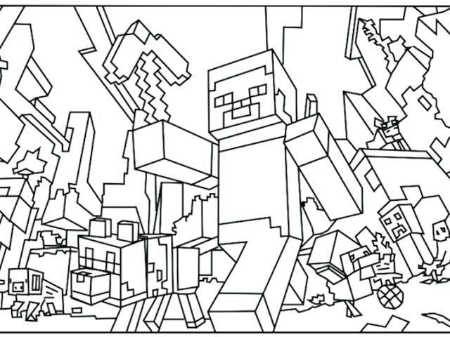 Minecraft Color Page着色ページの画像をもっと投稿するminecraft Sword着色ページ
