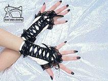 handschoenen zonder vingers, pols warmers 1070