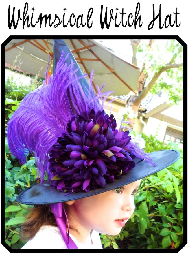 Smart! School {House}: Whimsical Witch HatWitch Hats, Halloween Costumes, Halloween Thanksgiving, Witches Hats, Whimsical Witches, Diy Whimsical, Schools House, Crafts, Smart Schools
