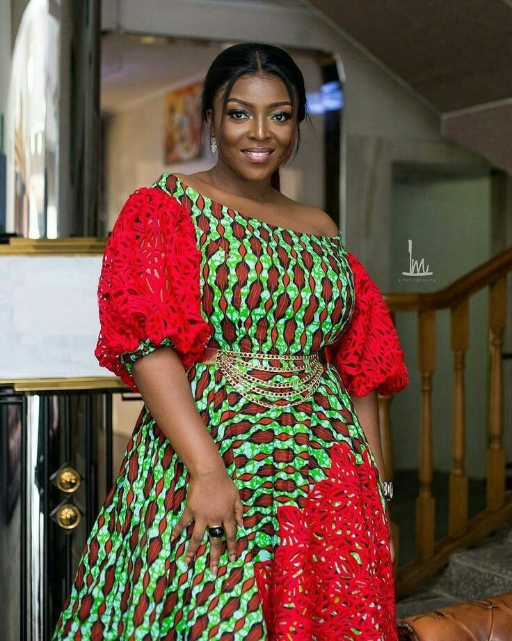 20 AWESOME ANKARA LACE DRESS STYLES – African Fashion