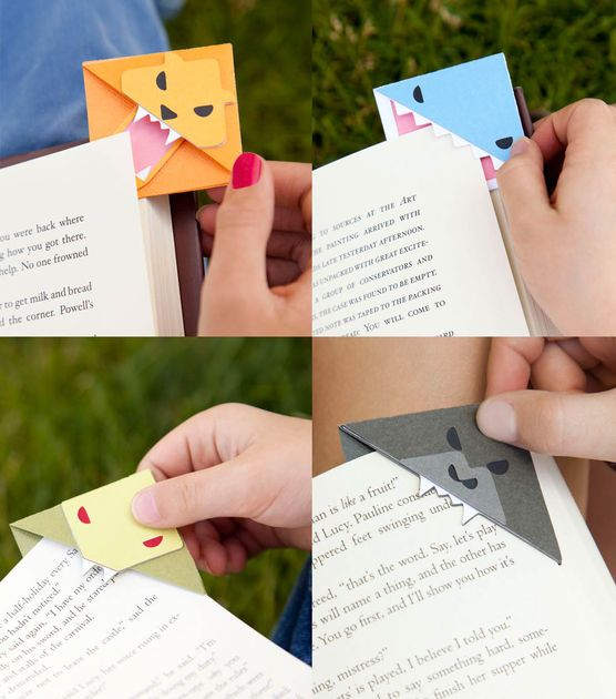 #DIY Animal Bookmark Corners from @Cricut® #cricutexplore