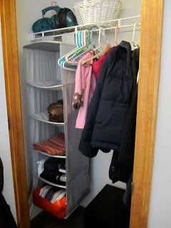 It doesn't have to be expensive ...even a cheap closet organizer system can work