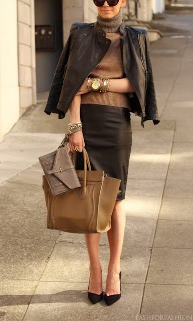 Stylish and polished look for work