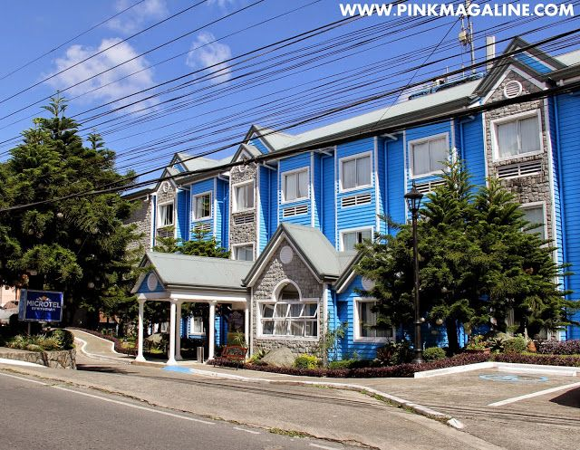 Pink MagaLine: Microtel Baguio Review