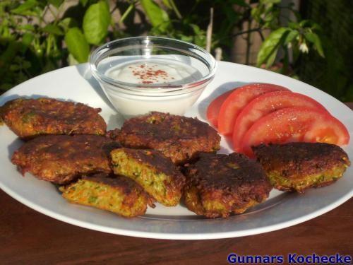 Vegetarische Zucchini-Frikadellen
