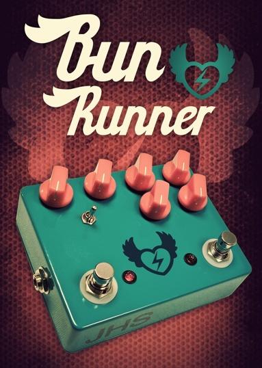 JHS BunRunner fuzz pedal