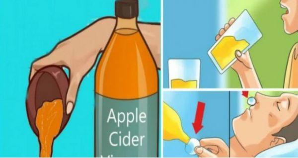 Beber vinagre de manzana antes de acostarse va a cambiar su vida para siempre! | Salud con Remedios