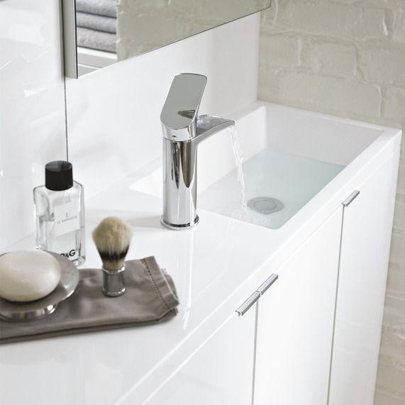 Slimline Sinks Bathrooms : Myplan Slimline 600 Basin bathstore Bathroom Pinterest ...