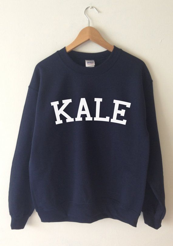 KALE SWEATSHIRT  SCREEN PRINTED FOR A SUPERIOR RETAIL QUALITY FINISH  Available in Unisex super soft Sweatshirts in a choice of Burgundy, Black, Dark Heather Grey, Navy, Green and Light Sport Grey and White with a green print Kale  *TEES FOR TREES*  FOR EVERY ITEM WE SELL WE WILL PLANT A TREE ON YOUR BEHALF WORKING WITH OUR PARTNERS AT TREES FOR THE FUTURE. THIS WILL HELP THE ENVIRONMENT AND CHANGE SOMEBODYS LIFE. PLANT TREES. CHANGE LIVES. THANKYOU FOR YOUR CONTRIBUTION.  For more info…