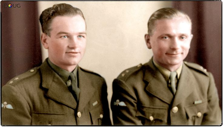 "27th May 1942.  'Czech' (Moravia and Slovak - born) commandos Jan Kubiš and Jozef Gabčík trained in Britain for the daring assassination of SS-Obergruppenführer Reinhard Heydrich in May 1942. (""Operation Anthropoid"")"