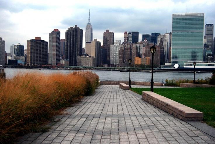 Across from Manhattan