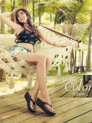 catalogo zapatos azaleia moda todo color 2014