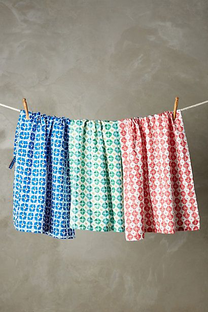 Anthropologie EU Antonella Tea Towel Set