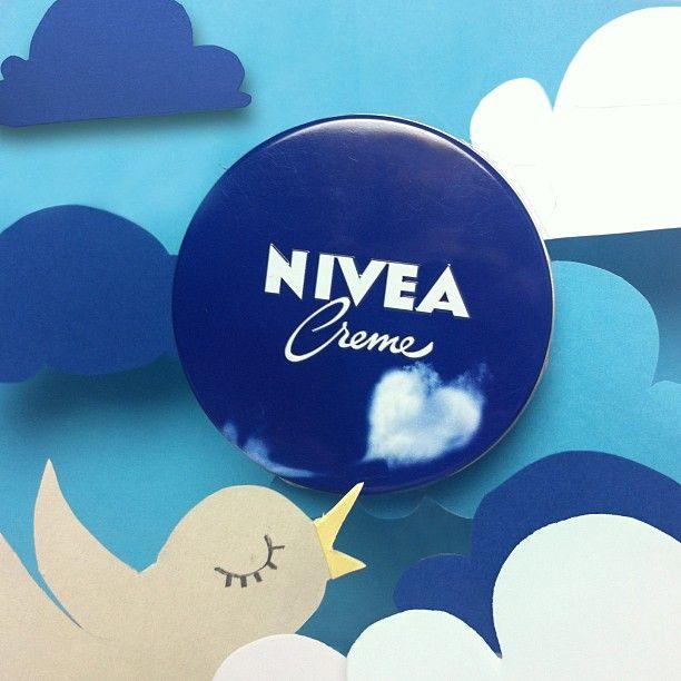 "High above the clouds! NIVEA Creme Limited Edition 2013 – ""Cloud"". #nivea #pflege #hautpflege #skincare"