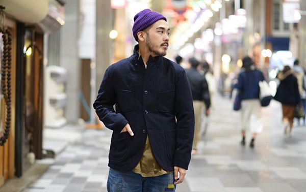 ENGINEERED GARMENTS BEDFORD JACKET (MELTON)