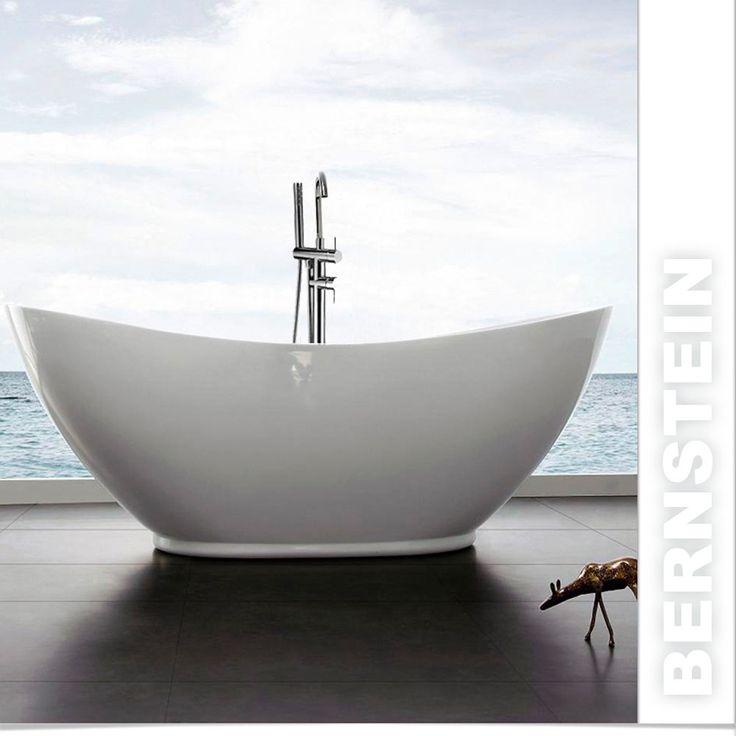 su Vasca Da Bagno Freestanding su Pinterest  Vasche da bagno, Vasca ...