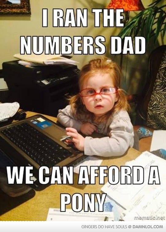 It's OK, She Ran The Numbers - Damn! LOL