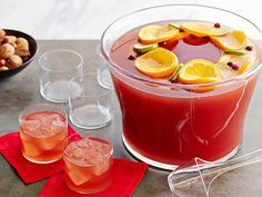 Cosmopolitan Fizz-Punch Recipe : Food Network Kitchens : Food Network - FoodNetwork.com