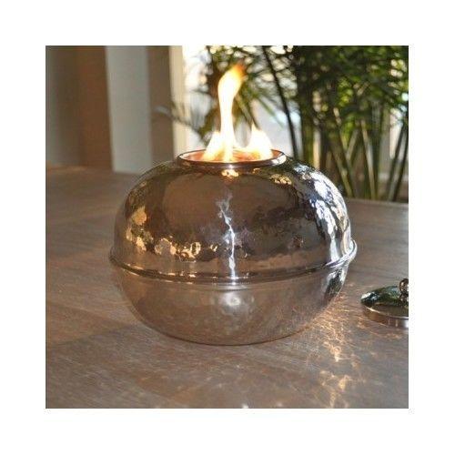 Outdoor Patio Firepot Backyard Tiki Torch Garden Light Outside Heater Oil Lamp
