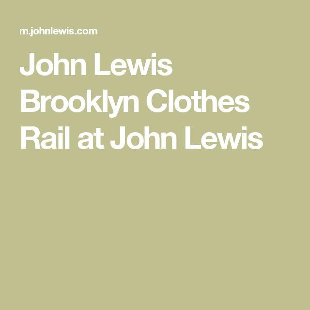 John Lewis Brooklyn Clothes Rail at John Lewis