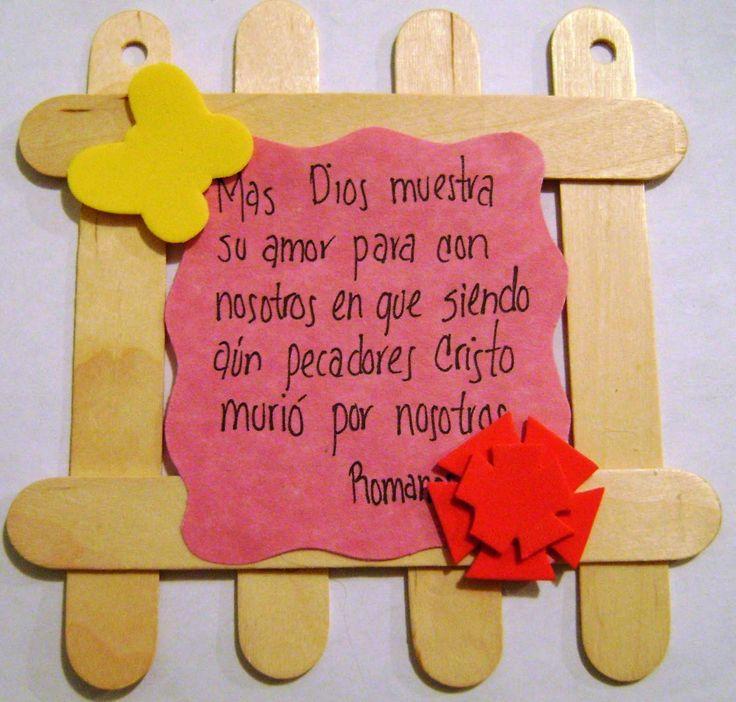 CREACIONES KIKIS: MANUALIDADES ESCUELA BIBLICA DE VACACIONES 2010