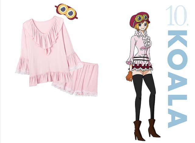 One Piece - La loungewear collection e i set di costumi e biancheria di Peach John - Sw Tweens