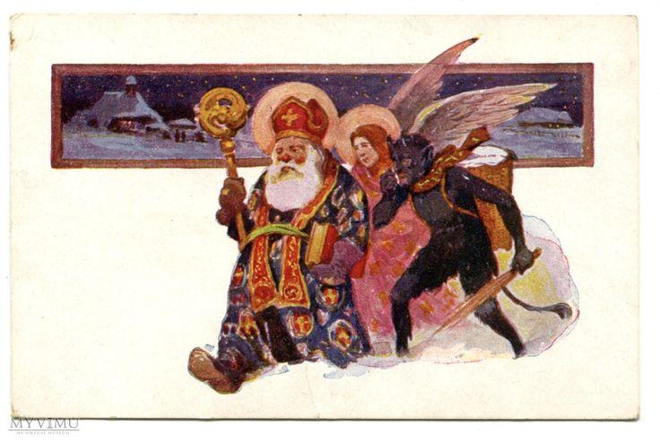 Adam Setkowicz Święty Mikołaj Diabeł Anioł