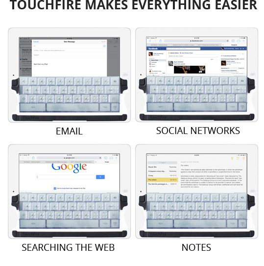 Touchfire makes everything easier