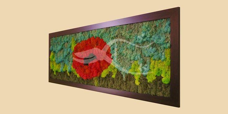 Lichens Art Wall (100X50 CM) = 1196.00 RON piece