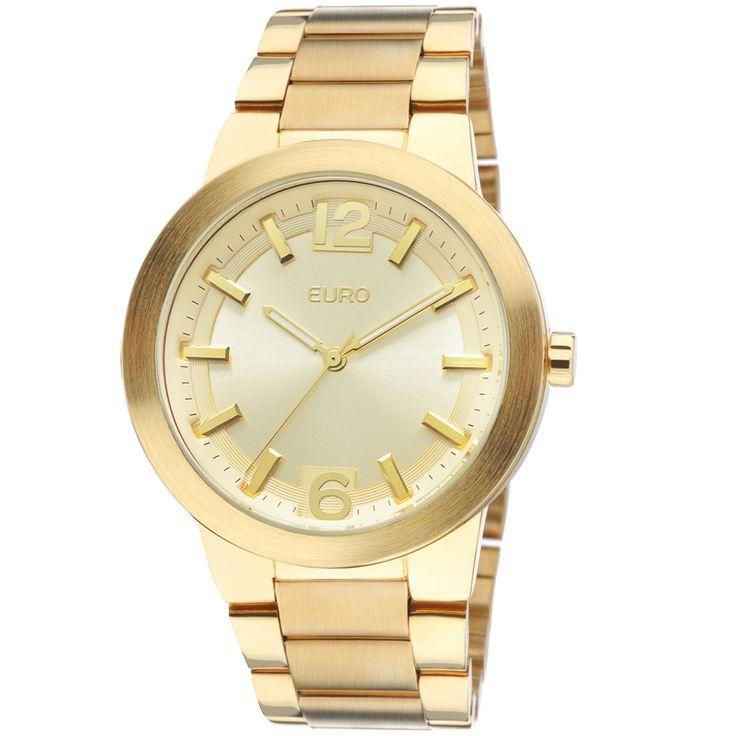 Relógio Euro Feminino Analógico Plauen EU2036AIU/4D - Dourado - euro