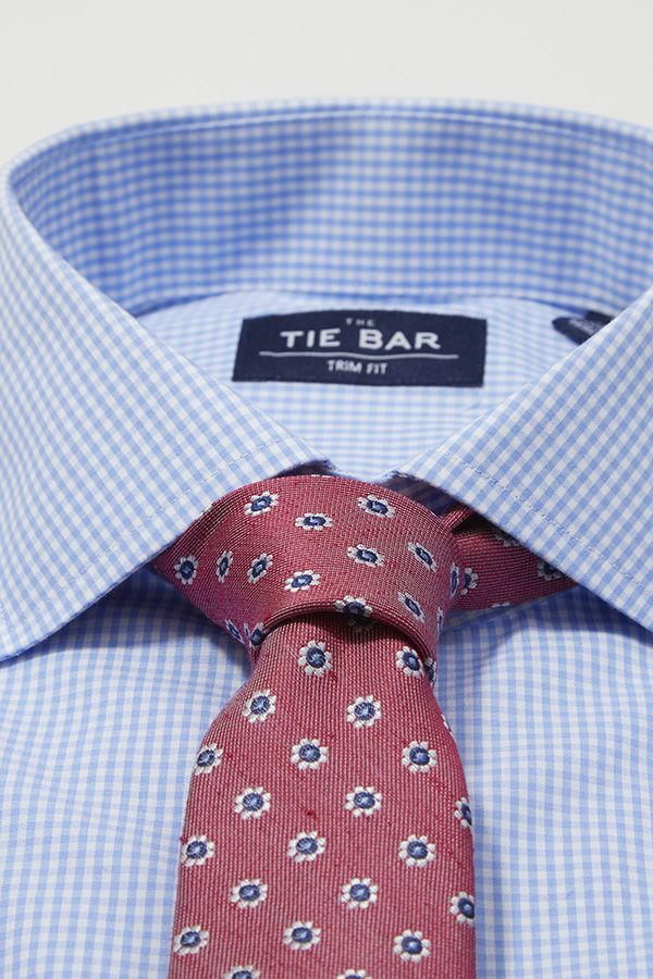 Hand-picked shirt and tie combos for Father's Day. Ties ($19) and shirts ($55) at www.TheTieBar.com