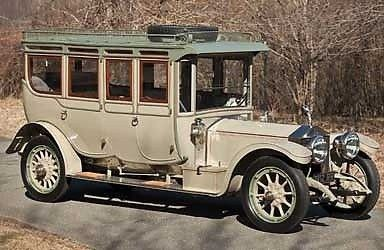 Rolls Royce built in 1912 for sale Bonhams auction at Goodwood Fest of Speed (June)