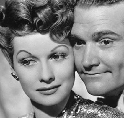 Lucille Ball & Red Skelton - undated.