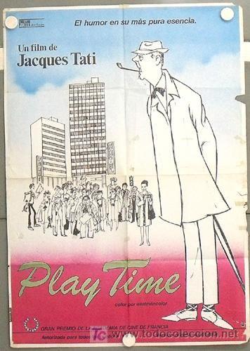 JACQUES TATI POSTER ORIGINAL 70X100 ESPAÑOL