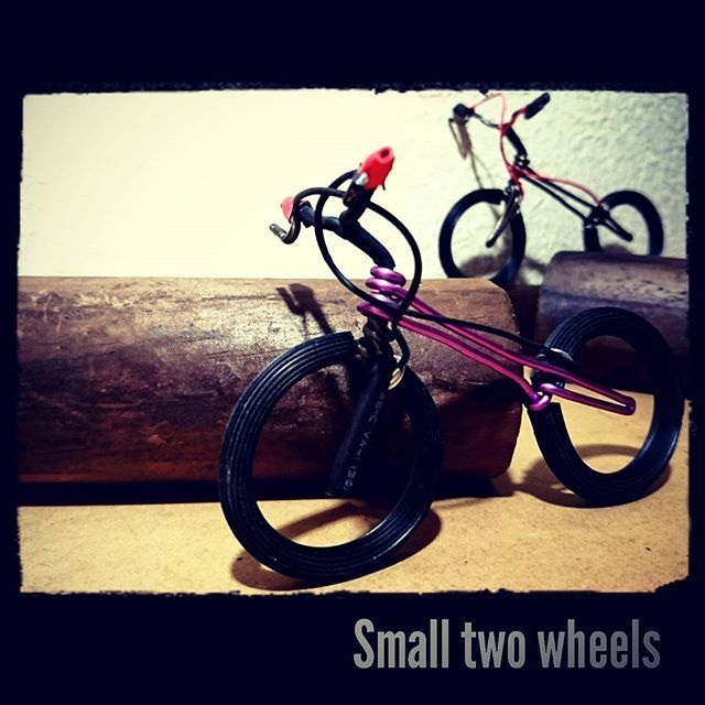 #smalltwowheels  BikeTrials  #bicycle #biketrial #biketrials #bmx #cycles ##fukuoka #follow #followme #instabike #instagood #japanese #japan #mtb #photo #trials #日本#福岡 #自転車#ワイヤーアート  #ワイヤークラフト#針金 #ひまつぶし