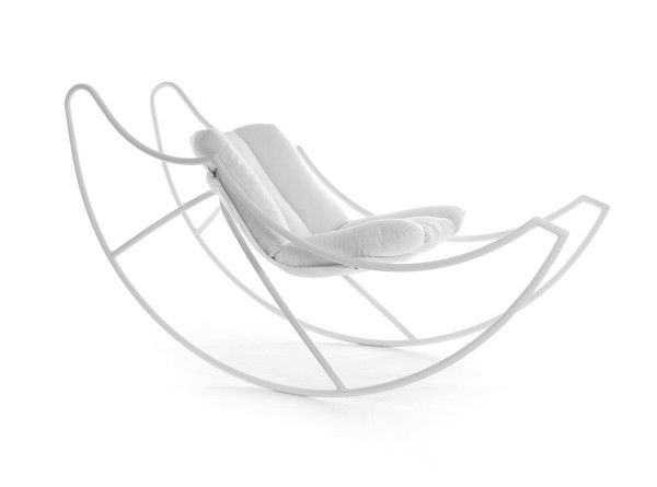 Ali Di Luna (Moon's Wings) Rocking Chair by Stefania Vola