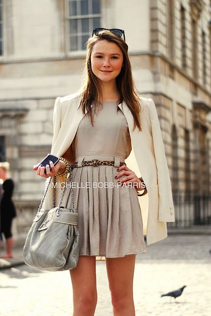 Amber from Made in Chelsea...not a fan of her personally...but the girl has got amazing fashion taste :)